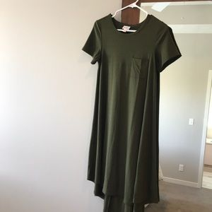 Lularoe Carly, Olive green, XXS